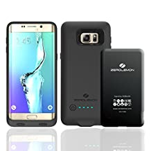 ZeroLemon 3500mAh Slim Power Battery Case for Samsung Galaxy S6 Edge Plus - Black