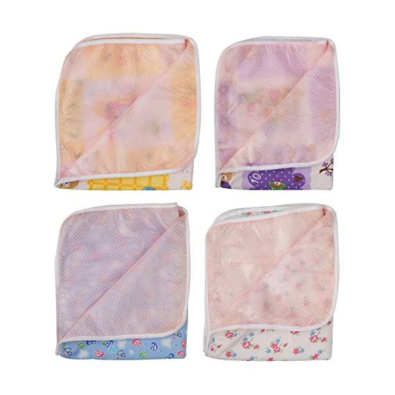 Dream Baby Diaper Changing Mat Combo (Pack of 4)