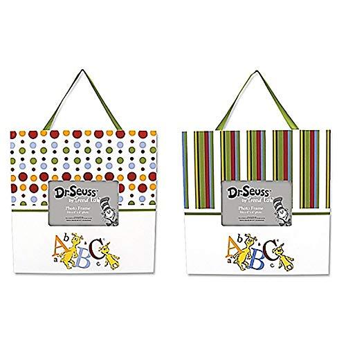 Trend Lab 2 Piece Dr. Seuss Frame Set, ABC ()
