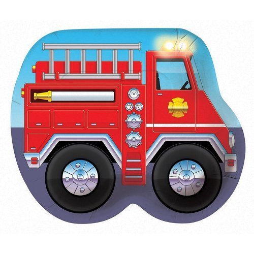 Creative Converting Fire Truck Lunch Plates 8ct ()