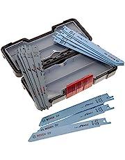 Bosch Professional 2607010901 Sabre Sågblad för Trä och Metall, Vit, 150 mm, 15 Stycken