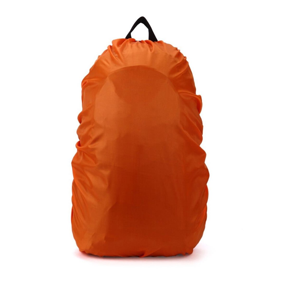 SODIAL(R) New Waterproof Travel Hiking Accessory Backpack Camping Dust Rain Cover 35L,Orange