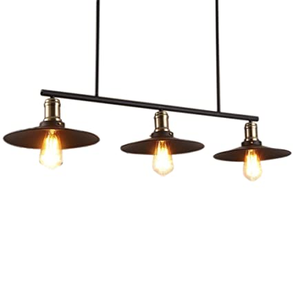 Candelabros de techo Retro Industrial Wind 3 Head ...