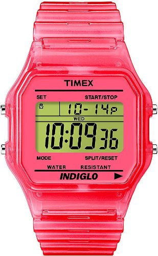 GENUINE TIMEX Watch TIMEX 80 TRANSPARENT Unisex - T2N805