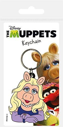 Le Miss Piggy Muppets Show des Porte-Cl/és Caoutchouc de 6 cm