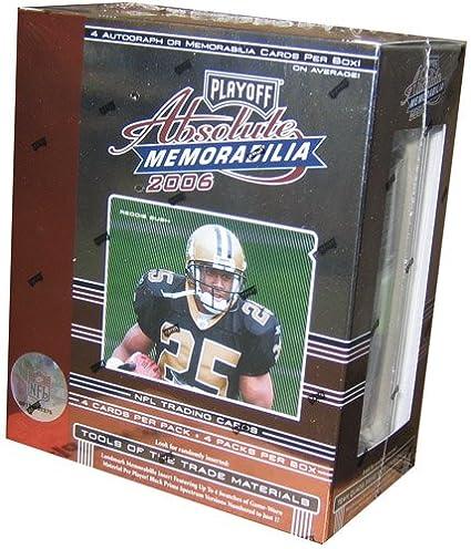 Amazon.com: 2006 Playoff absoluta Memorabilia Fútbol Hobby ...