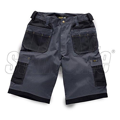 Workmans Multi Pocket Combat Shorts Tuff Trade Pants Triple Stitched Workwear StandSafe