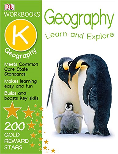 Geography Sticker - DK Workbooks: Geography, Kindergarten: Learn and Explore