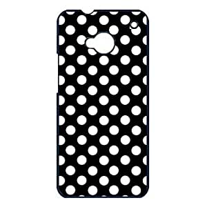 Artistic Pattern Polka Dot Phone Case Cover For Htc One M7 Polka Dot Fashionable