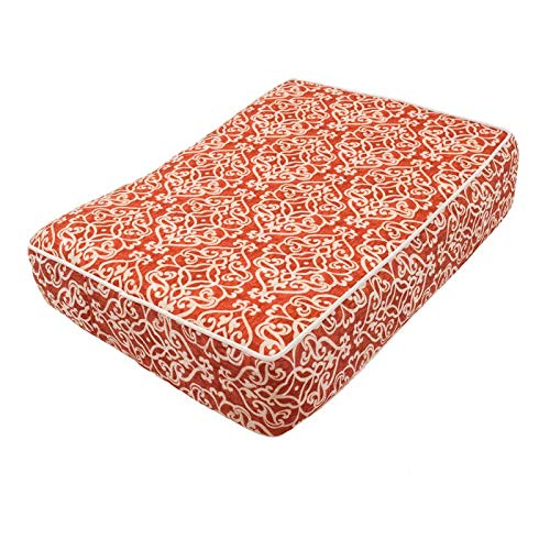 Snoozer Pet Products - Outlast Dog Bed Sleep System; 5 Inch Thick - Wag Collection | Large - Gondola Salmon