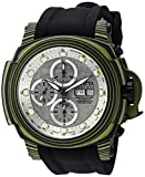 Image of Invicta Men's 'Reserve' Automatic Stainless Steel and Silicone Casual Watch, Color:Black (Model: 23561)