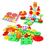 Biulotter Building Toy Set Educational Learning Stem Building Construction Toys 49 PCS Creative Engineering Tool for 3+ Year Old Boys & Girls