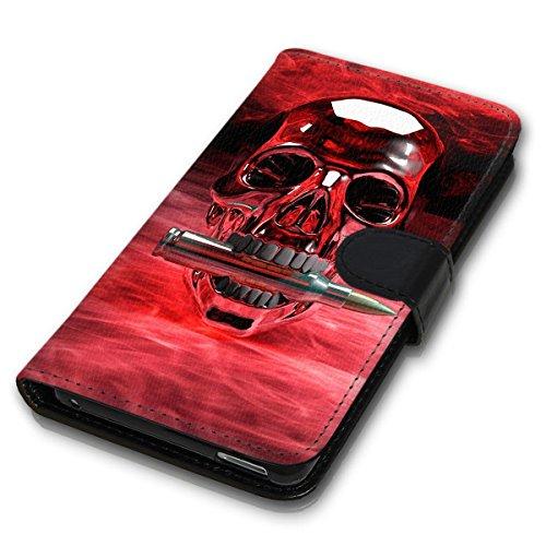 Wallet Book Style Flip Handy Tasche Case Schutz Hülle Schale Motiv Etui für Apple iPhone 4 / 4S - Design Flip MVD292