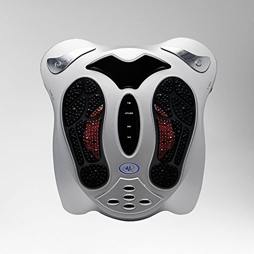 Genmine Foot Massager Machine Electromagnetic Wave Pulse ...