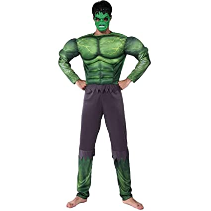 nihiug Traje De Halloween Traje De Superman Adulto Traje ...