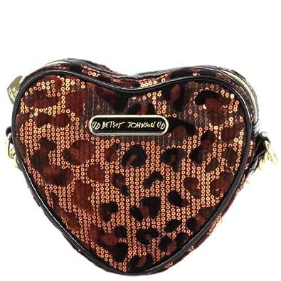 Betsey Johnson Heart Crossbody