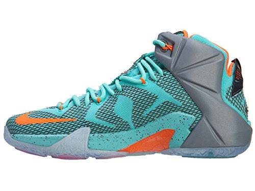 Nike LeBron XII Herren Basketballschuhe Hypr Trq, Blck-mtlc Cl Gry-Hypr