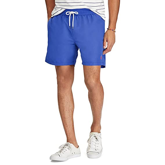 1555d9589f Ralph Lauren Men's Traveler-Swim Shorts: Amazon.co.uk: Clothing