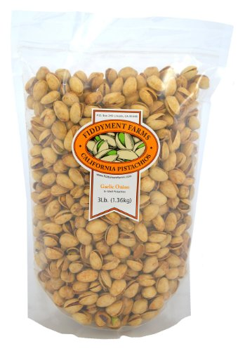 Farm Garlic - Fiddyment Farms 3lb Garlic Onion In-shell Pistachios