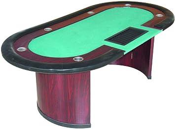 Devessport - Mesa de Póker - Medidas: 214 x 107 x 76.5 Cm ...