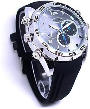 N.E.W Reloj de Pulsera DVR con cámara espía integrada (16 GB, HD, 1080P, 1920 × 1080, visión Nocturna, grabación de vídeo, grabadora de Audio)