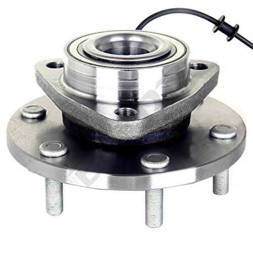 ECCPP New Front Wheel Hub & Bearing Assembly 515066 Set for Nissan Armada Titan Pathfinder QX56 6 Lug W/ABS (515066 x1) - Wheels For Nissan Titan