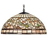 Meyda Tiffany 17531 Turning Leaf Pendant, 20″ Width Review