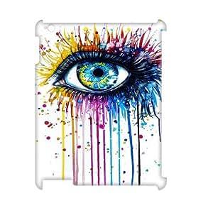 Customized Durable Case for Ipad 2,3,4 3D, Rainbow Eye Phone Case - HL-R638467