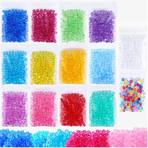 Fishbowl beads para slime (14 bolsitas)
