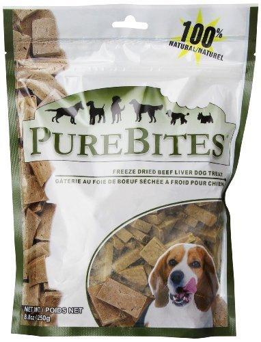 PureBites Beef Liver Dog Treats, 8.8 oz / 250g / Value Size by PureBites
