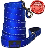 #5: Extra Heavy Dog Leash Durable and Premium Quality,Reflective,Padded Handle - 6 ft Long Perfect for Everyday Training Walking Running Best For XL/ Large/Medium/Small Pet
