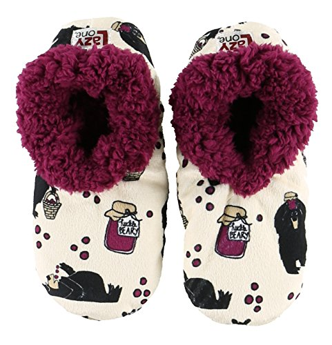 Fuzzy Plush Huckleberry Feet House Womens Ladies by Fuzzy Slippers Soft Fuzzy Feet LazyOne Slippers 7PPdpq