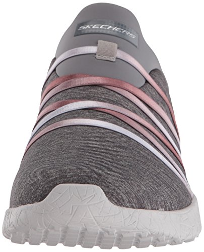 Skechers Femme Basses Alter Ego Noir Baskets Grey Burst XqrUXWwv6