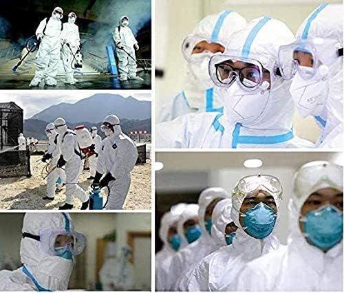 3 PCS Prevenir la Saliva Gafas de Seguridad contra la Niebla Gafas Protectoras Gafas Transparentes para el Personal de Laboratorio m/édico Qu/ímica