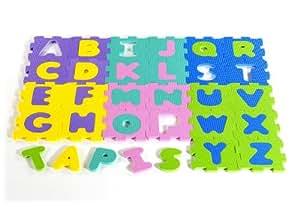 Tatamiz - Alfombra con puzle de abecedario