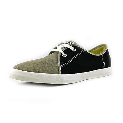Unisex Riff Woven Black/Old Sliver Sneaker