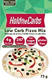 Low Carb Pizza Crust Mix, Very Low Calorie, Gluten Free, No Added Sugar, No Sweeteners, No Preservatives, Made in Canada - makes one large 12'' low carb pizzas