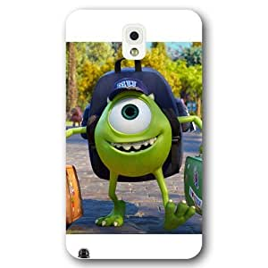 Customized White Disney Cartoon Monsters University Samsung Galaxy Note 3 Case