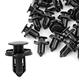 uxcell Retainer Clips Fasteners Bumper Fender 9mm Hole 50 Pcs