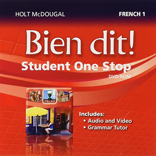 Bien dit!: Student One Stop DVD-ROM Level 1 2013 (French Edition)