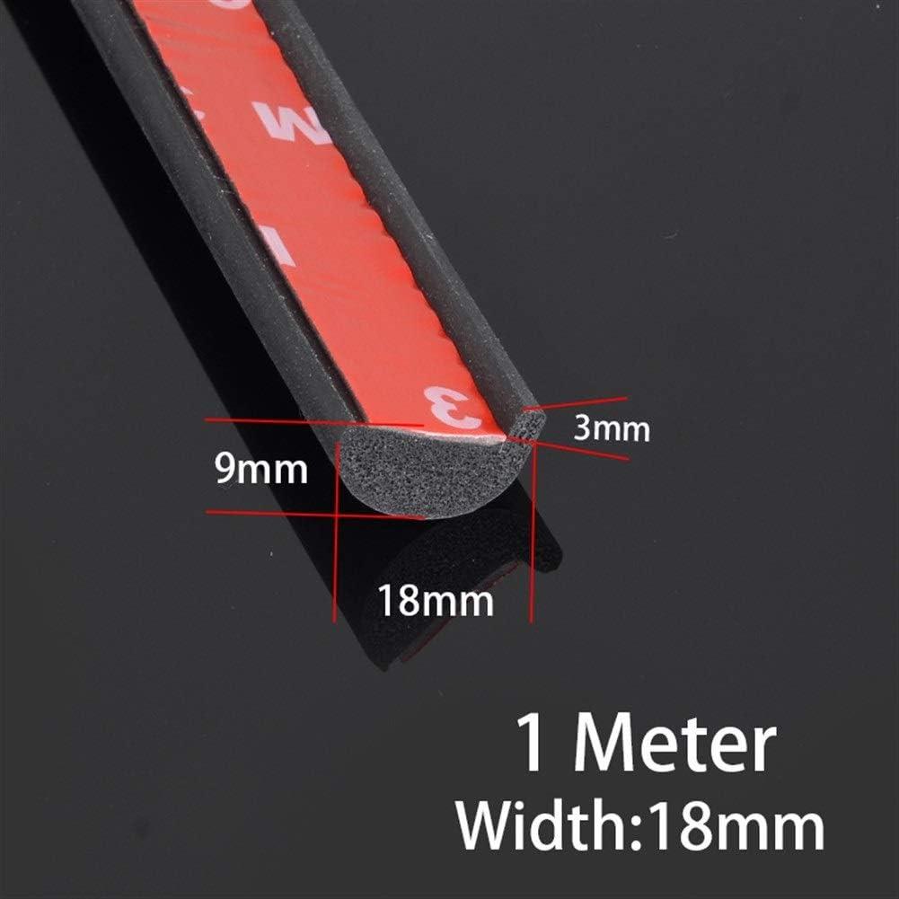 Size : 1 Meter 18mm Universal Car Fender Flares B/ögen Fl/ügel Expander Bogen Augenbraue Auto Kotfl/ügel Kit-Schutz-Abdeckung Auto Schutzbleche
