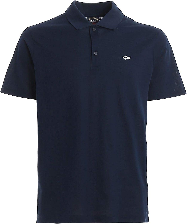 PAUL & SHARK Luxury Fashion Mens C0P1013013 Blue Polo Shirt   Spring Summer 20