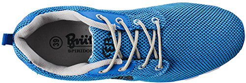 Bruetting Amarillo - Zapatillas Unisex adulto Blau (blau/schwarz)