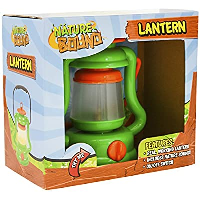 Nature Bound Light & Sound Lantern Kit with Nature Sound Effects, Green, One Size: Toys & Games