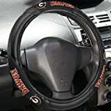 Fremont Die NCAA Georgia Bulldogs Massage Steering Wheel Cover, Black, One Size