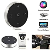 CCsky Bluetooth Car Kits,Wireless SmartRemote Contorl Hands-free Portable Bluetooth Media Button for Music,Shutter,Siri,Compatible with iPhone X/8/8Plus/Samsung/Nubia/LG/Tablets/iPad