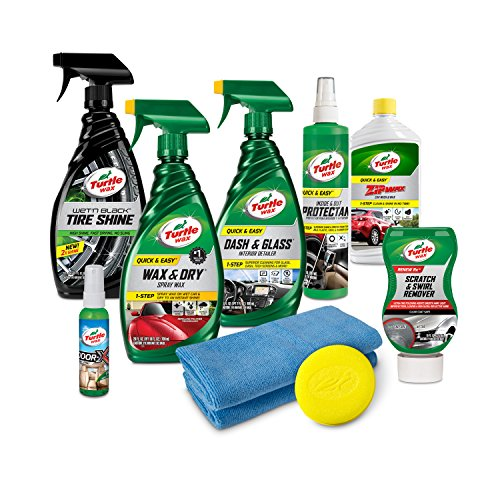 Turtle Wax 50754 Ultimate Car Care Kit, 114.4 Fluid_Ounces (Car Set Care)