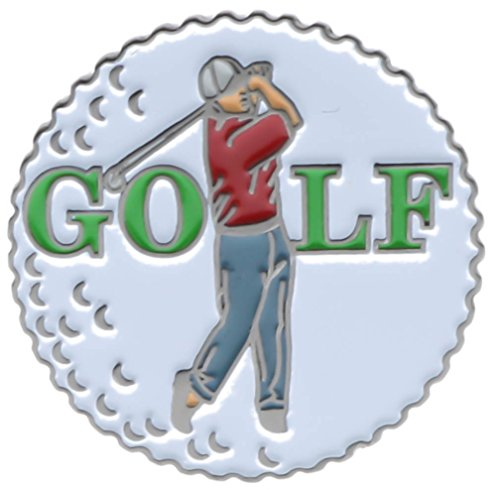 Sujak Military Items Golf Ball Golfer Hat or Lapel Pin ()