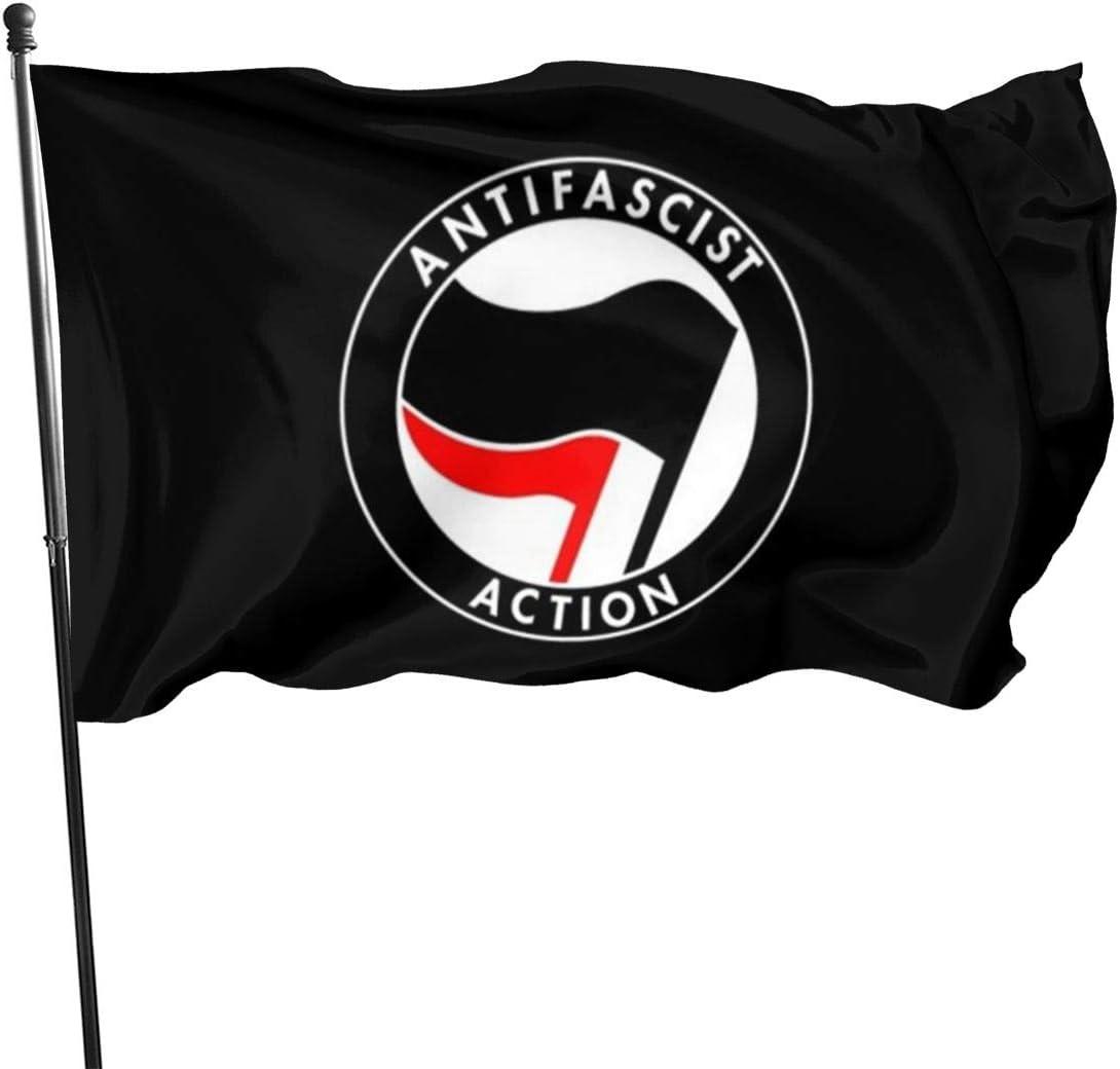 ~ Anti-FA Garden Flag 3x5 Ft Outdoor Garden Decor Porch Lightweight Flag Uv Fade Resistant