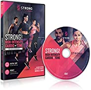 Zumba High Intensity Cardio & Tone 60 min Workout DVD featuring Michelle L